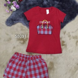 Set áo và quần thun short