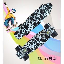 Skate board hình đốm Mã: SK0047