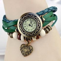 Đồng hồ dây da phong cách Vintage AL85 ,