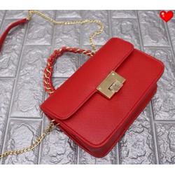 Túi xách tay đeo chéo dây xích kiểu - G00965