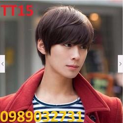 Tóc giả nam Hàn Quốc TT15