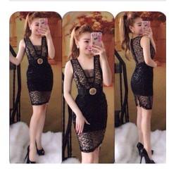 Đầm màu đen quyến rủ