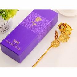 Hoa hồng mạ vàng 24k ý nghĩa làm quà tặng