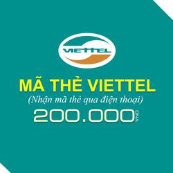 Mua thẻ Viettel 200.000đ