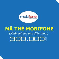Mua thẻ Mobifone 300.000đ