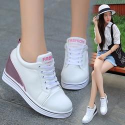 FREE SHIP - Giày sneaker nữ nâng đế dễ thương Hàn Quốc - SG0325