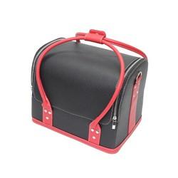 Túi da đựng đồ trang điểm xách tay Makeup Pro cỡ lớn Senviet