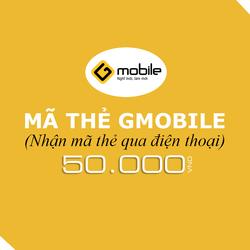 Mua thẻ Gmobile 50.000đ