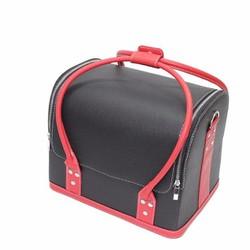 Túi da đựng đồ trang điểm xách tay Makeup Pro cỡ lớn cao cấp