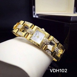 Đồng hồ nữ dây đính đá cực lạ - Giá Cực Sốc