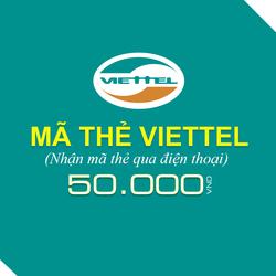 Mua thẻ Viettel 50.000đ