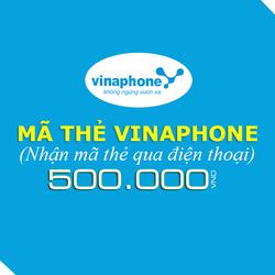 Mua thẻ Vinaphone 500.000đ