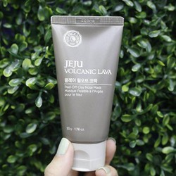 Kem lột mụn The Face Shop Jeju Volcanic Lava Peel-Off Clay Nose Mask