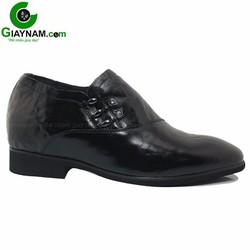 Giày lười tăng chiều cao màu đen GOG công sở