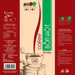Cà phê Bốn Hột đặc biệt 500gr