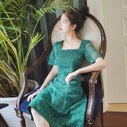 Đầm ren vintage dịu dàng