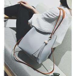 Túi xách nữ da mềm thời trang cá tính kèm ví nhỏ