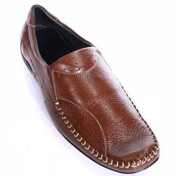Giày mọi nam đẹp họa tiết chỉ khâu