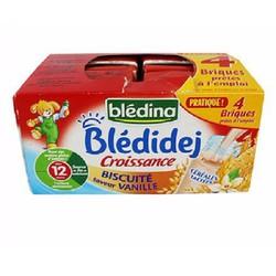 Vỉ 4 hộp sữa nước Bledina bánh mỳ 250ml x 4 9m