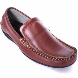 Giày mọi nam công sở da bò nâu đẹp cung cấp bởi vnHieu