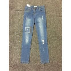 quần jeans mài xước