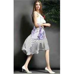 túi xách nữ thời trang họa tiết