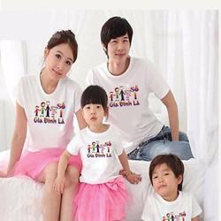 Áo thun gia đình hạnh phúc