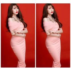 Đầm nơ đẹp thiết kế ôm body tôn dáng đơn giản