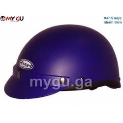 Mũ bảo hiểm cao cấp ARAYA HH666 - Xanh mực nhám trơn