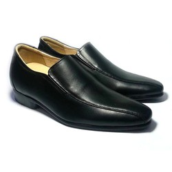 Giày cao nam 6 cm da thật HN 15
