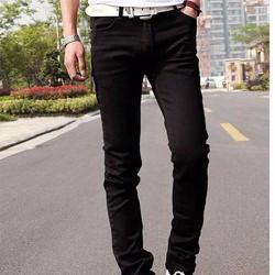 quần bò nam màu đen chất đẹp.