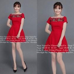 Đầm xòe kim tuyến