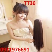 Tóc giả đuôi kẹp Hàn Quốc cho nữ - TT36