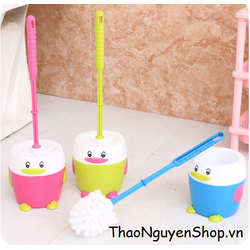 Cọ Toilet chim cánh cụt