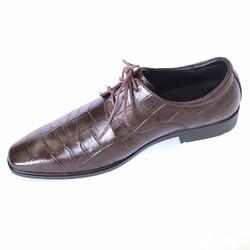 Giày tây nam da bò dập vân cá sấu cung cấp bởi vnHieu