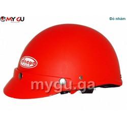 Mũ bảo hiểm cao cấp ARAYA HH666 - Đỏ nhám trơn