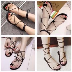 Sandal chiến binh cột dây