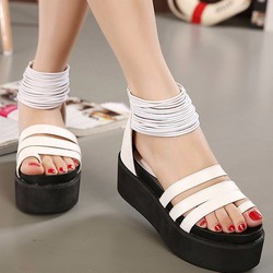 SD212W - Giày sandal chiến binh nữ 3 dây thời trang Hàn Quốc - Doni86