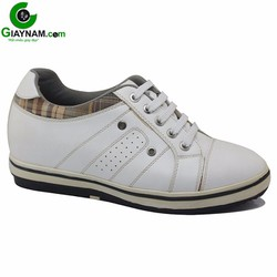Giày thể thao tăng chiều cao Elegans màu trắng