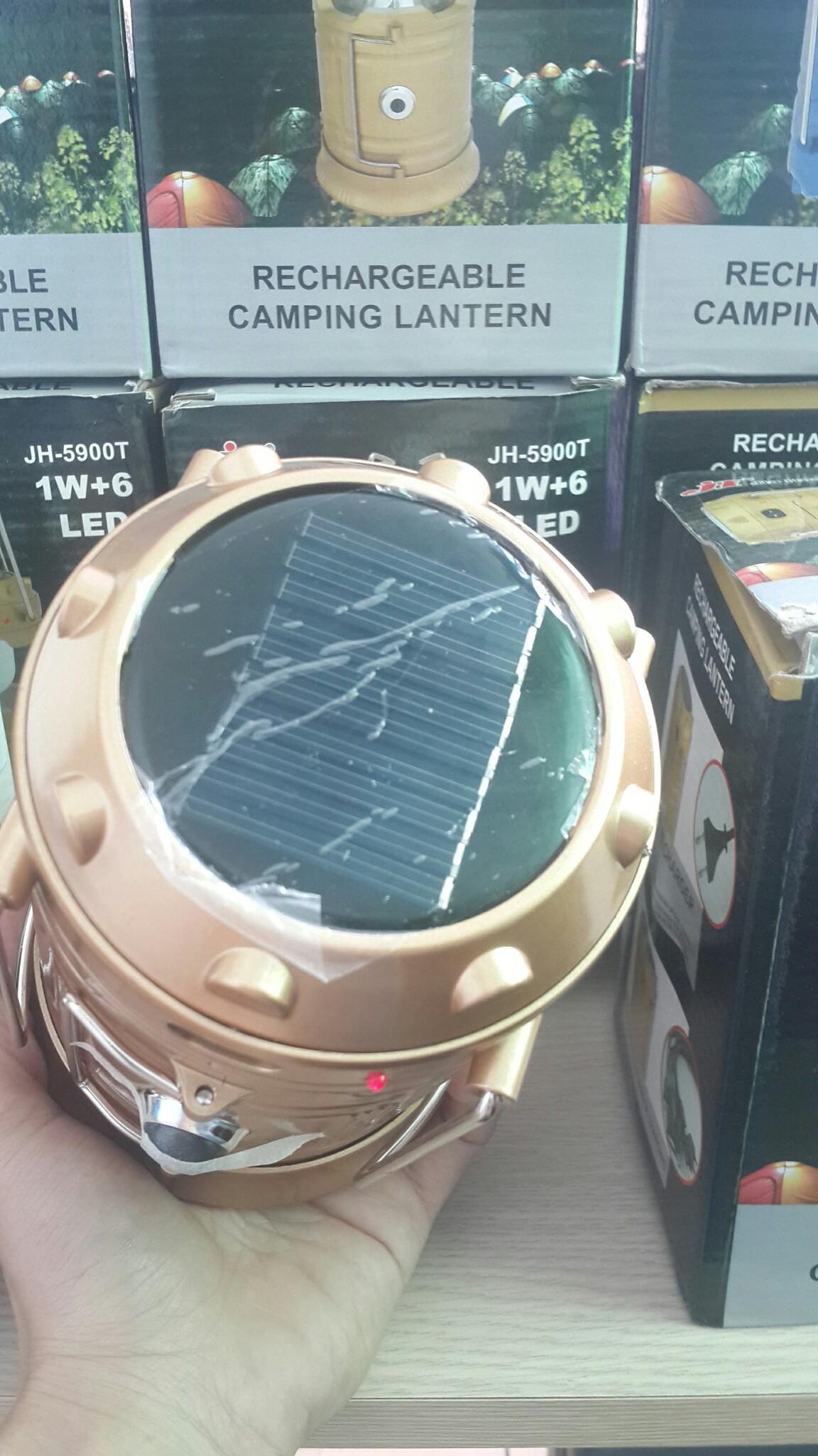 Đèn bão năng lượng mặt trời cỡ đại– JH-5900T 1