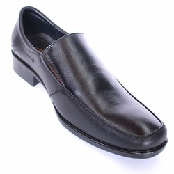 Giày lười công sở da bò đen cung cấp bởi vnHieu