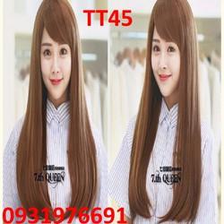 Tóc giả có da đầu bao lưới Hàn Quốc - TT45