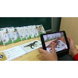 Bộ thẻ học tiếng Anh 3D dành cho bé