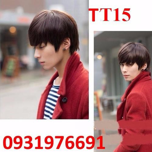 Tóc giả nam Hàn Quốc -- TT15