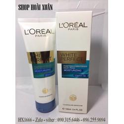 Sữa rửa mặt trị mụn LORÉAL White Perfect cho da nhạy cảm - HX1666