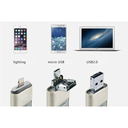 USB OTG 3in1 32GB