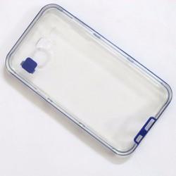 Ốp lưng dẻo Samsung-Galaxy J5 viền màu xanh navy đẹp