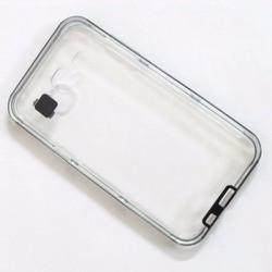Ốp lưng dẻo Samsung-Galaxy J5 viền màu đen đẹp