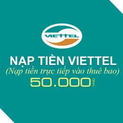 Nạp tiền Viettel 50.000đ