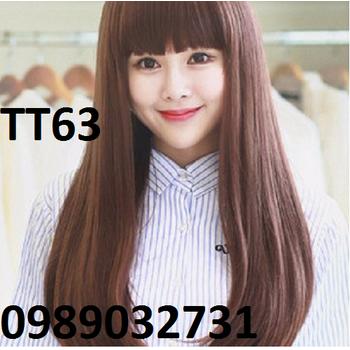Tóc giả Hàn Quốc đuôi cúp - TT63